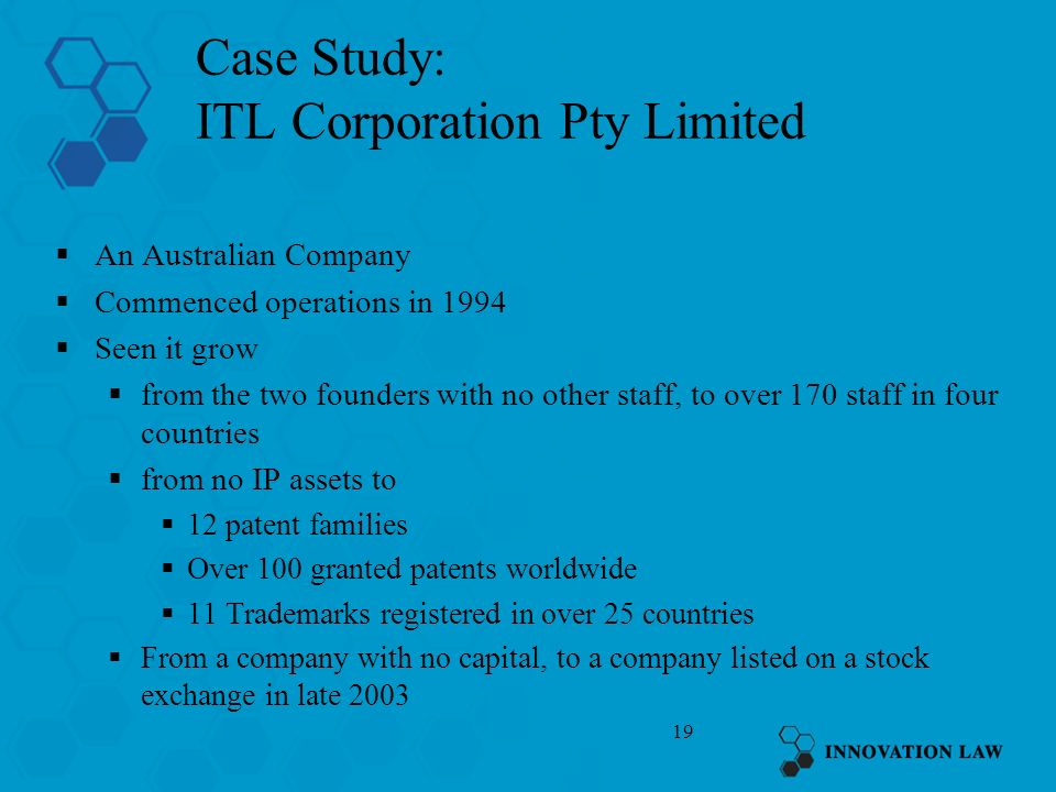 Case Study: ITL Corporation Pty Limited
