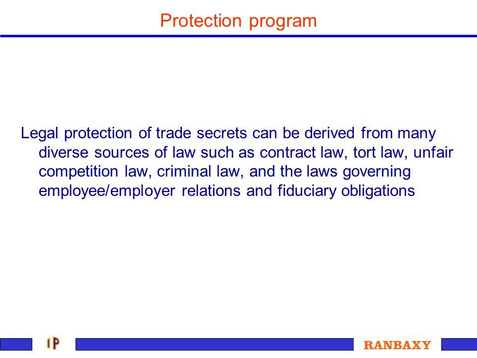 Protection program