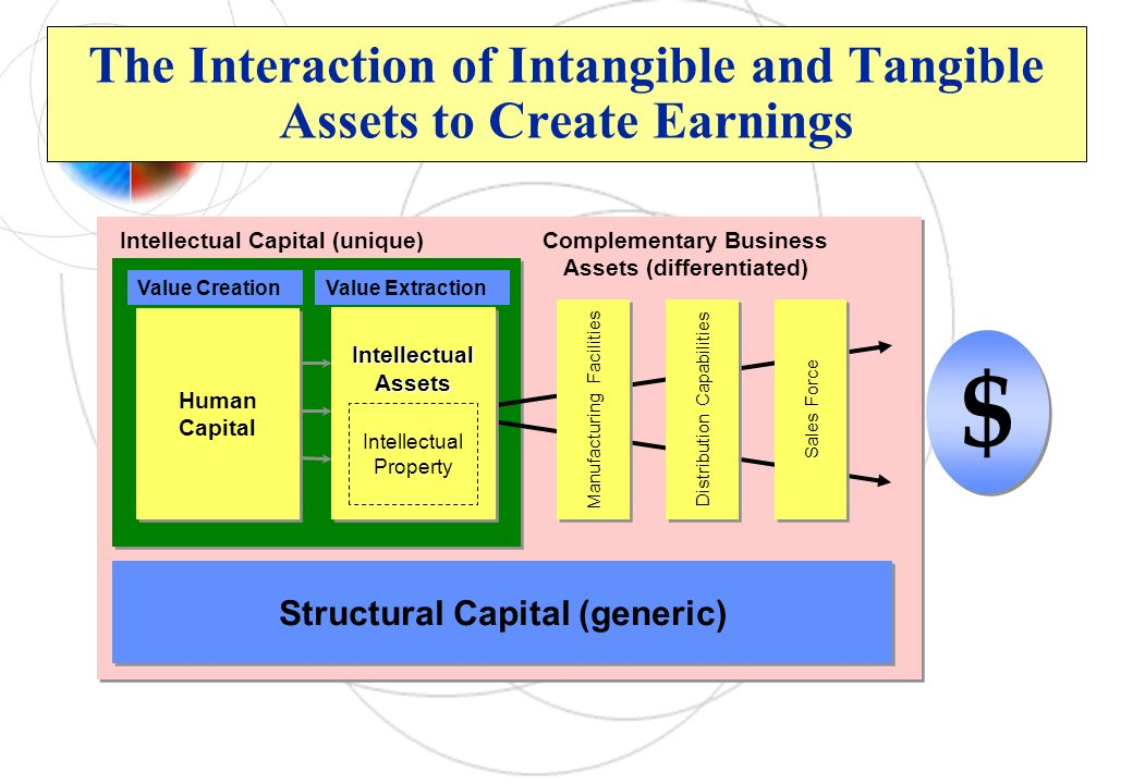 The Interaction of Intangible and Tangible Assets to Create Earnings