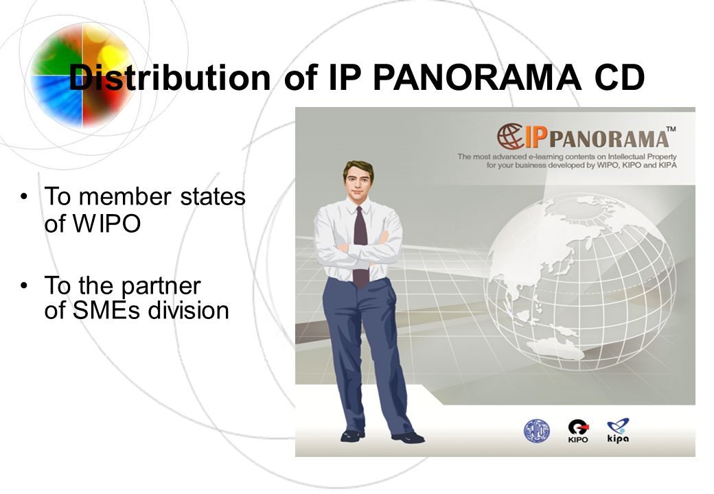 Distribution of IP PANORAMA CD