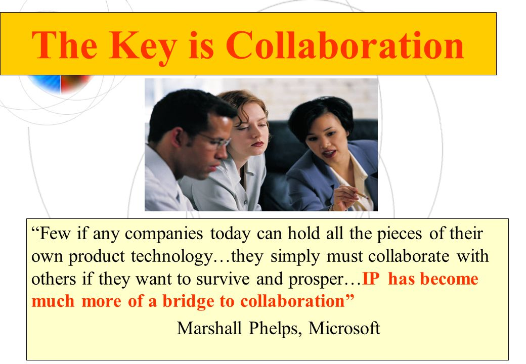 The Key is Collaboration
