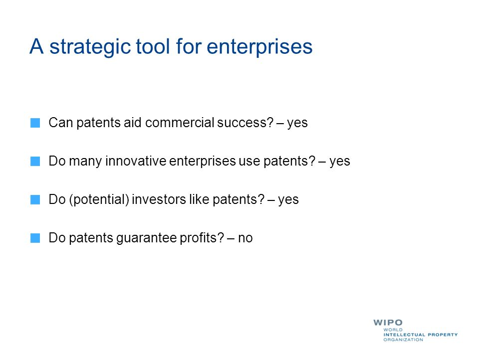 A strategic tool for enterprises