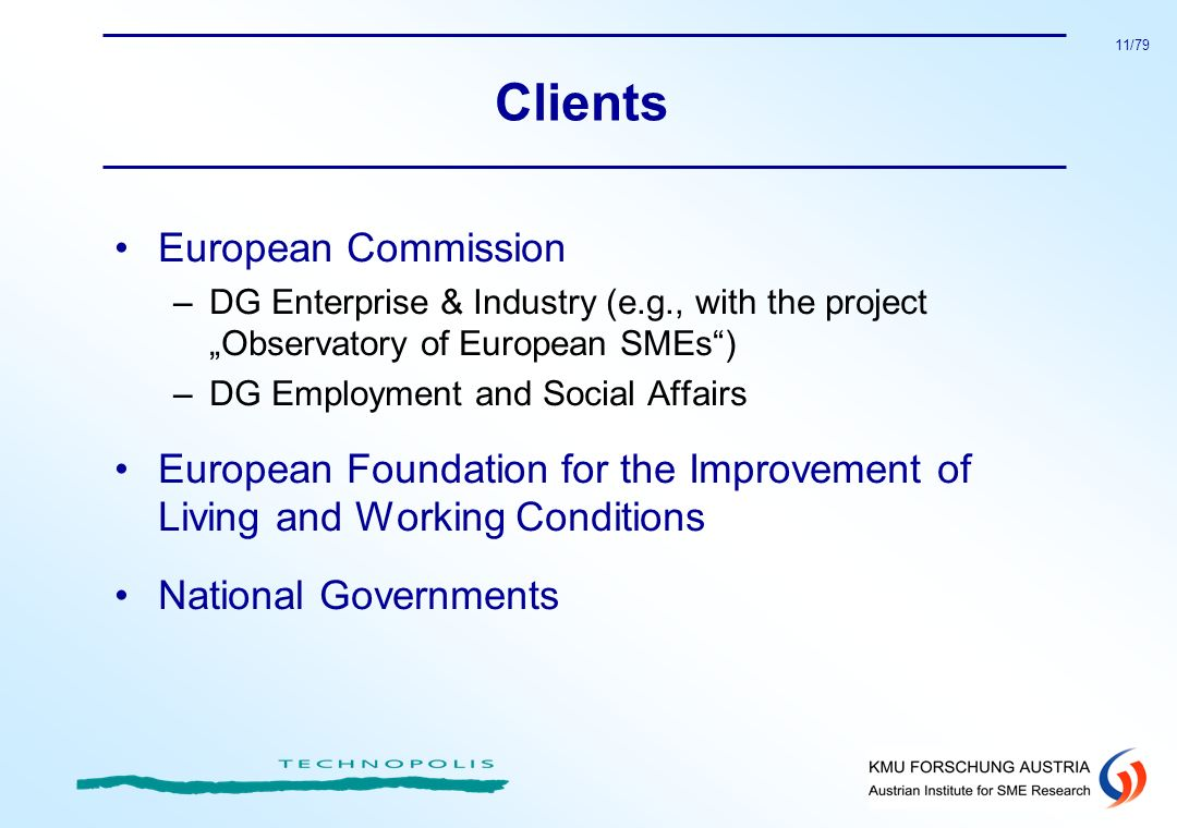 Clients European Commission