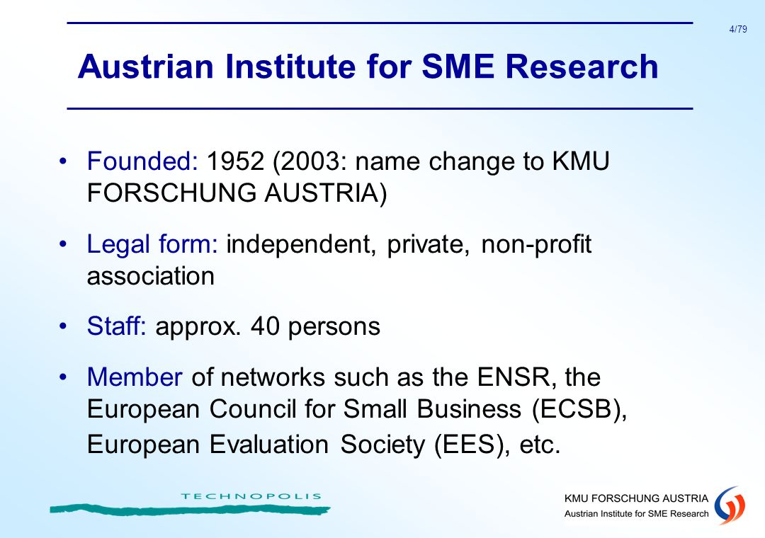 Austrian Institute for SME Research