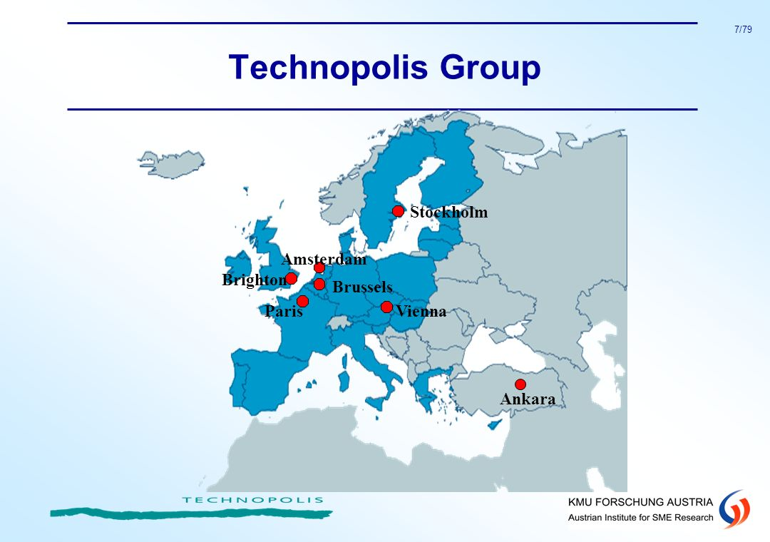 Technopolis Group Stockholm Brighton Amsterdam Brussels Paris Vienna
