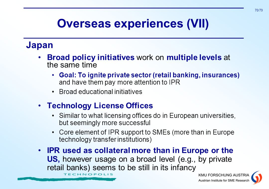 Overseas experiences (VII)