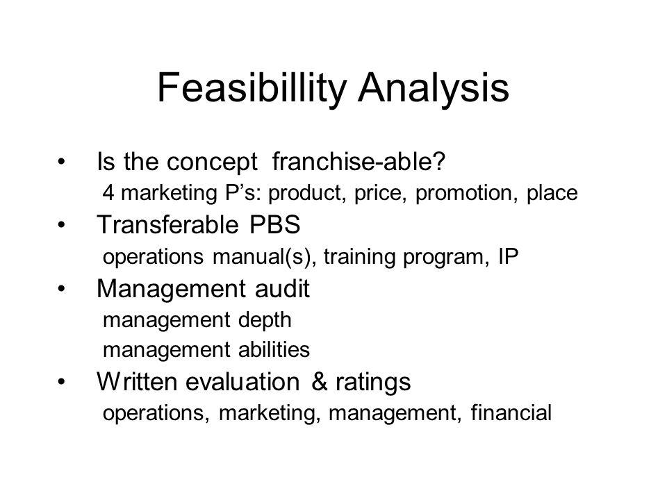 Feasibillity Analysis