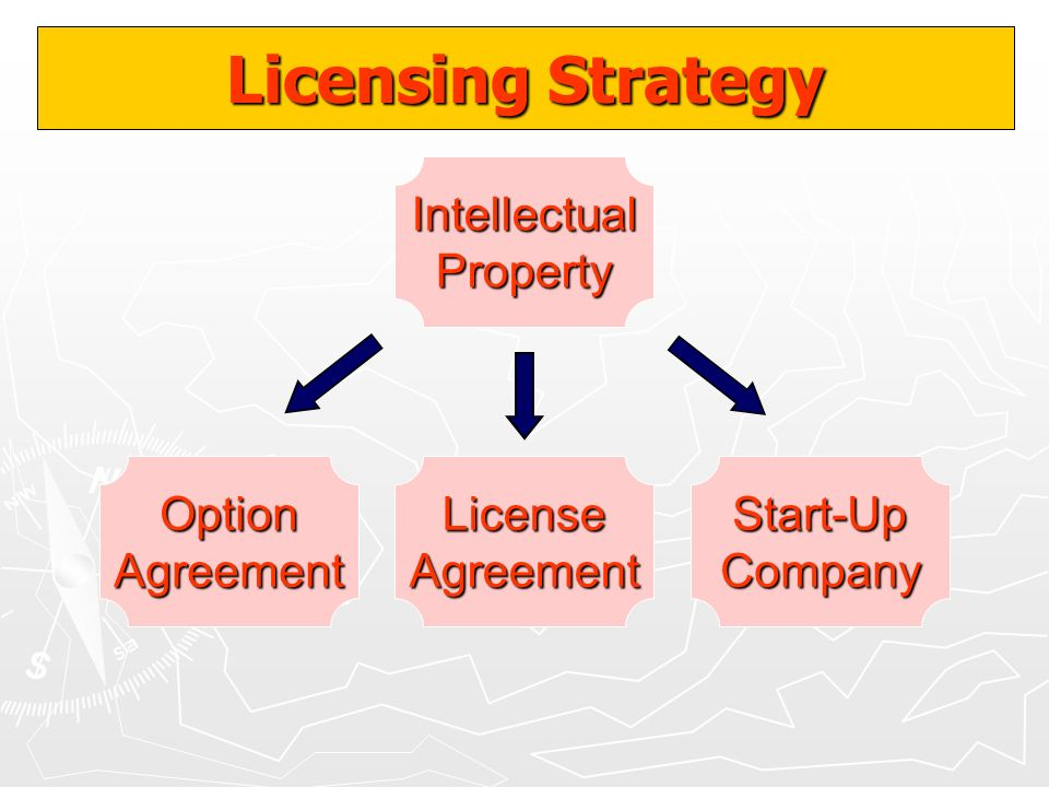 Licensing Strategy Intellectual Property Option Agreement License