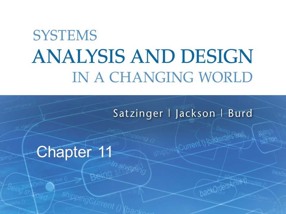 Systems Analysis And Design In A Changing World 6th Edition Ppt Video Online Download