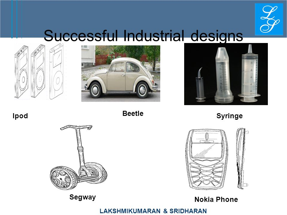 Successful Industrial designs