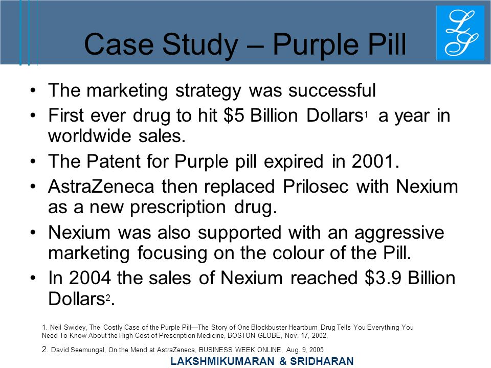 Case Study – Purple Pill