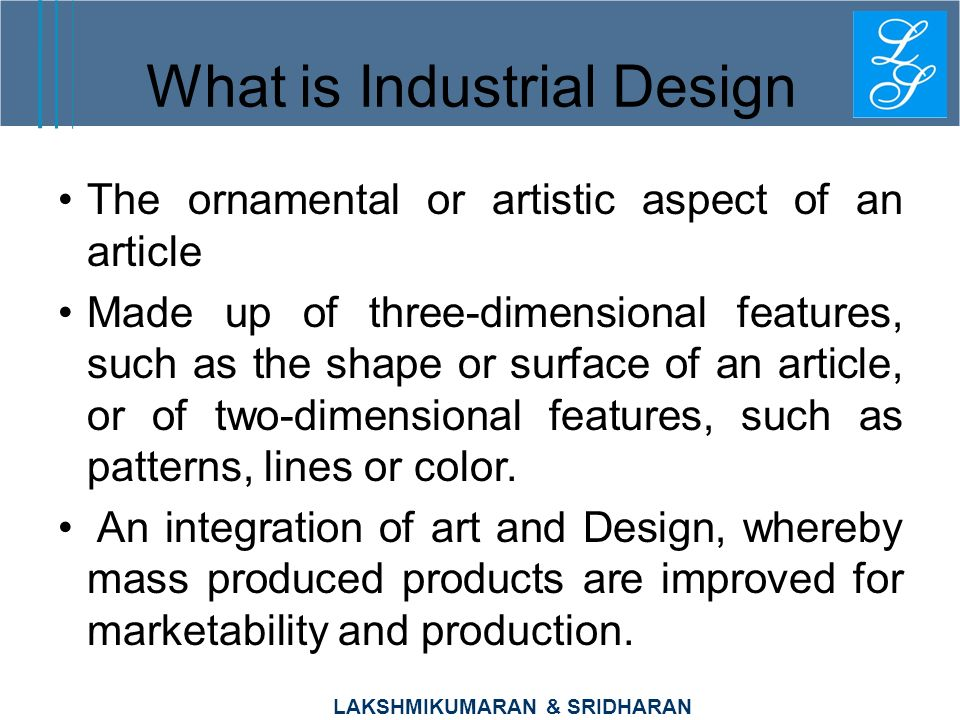 What is Industrial Design