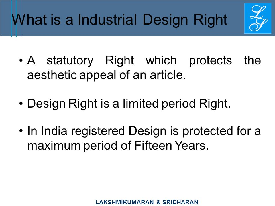 What is a Industrial Design Right