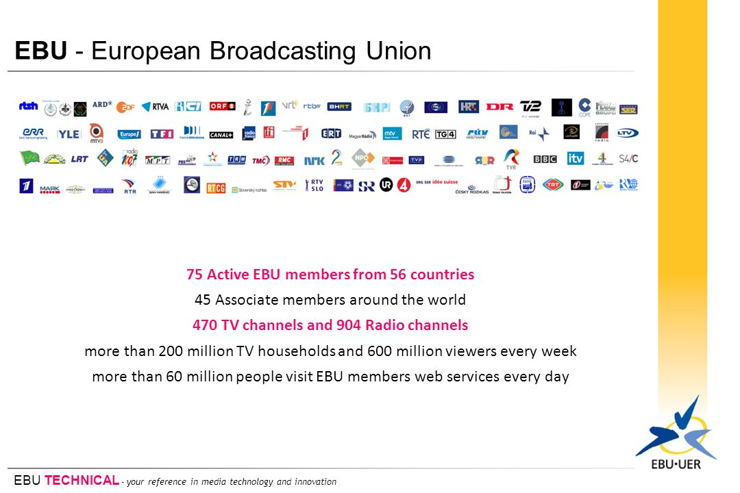 EBU - European Broadcasting Union