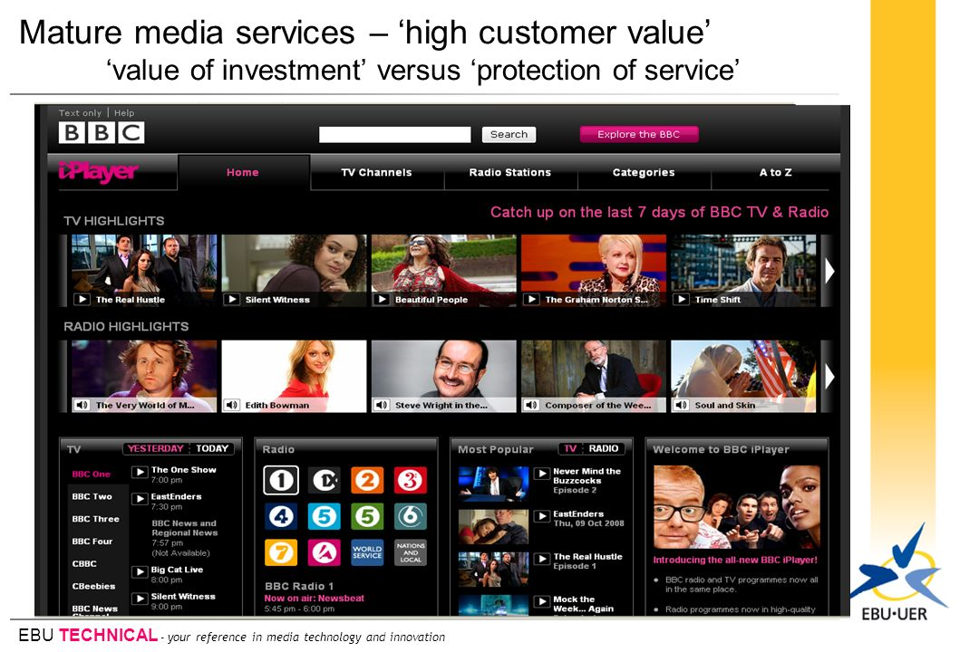 Mature media services – 'high customer value'