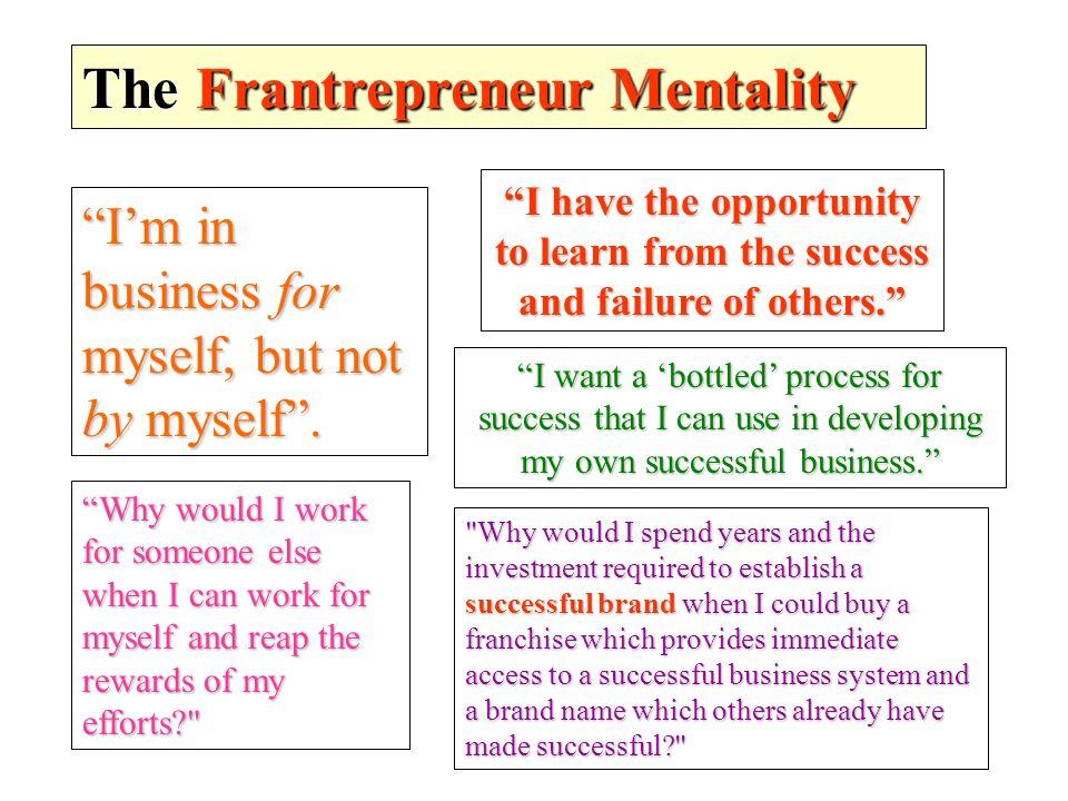 The Frantrepreneur Mentality
