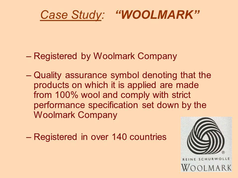 Case Study: WOOLMARK