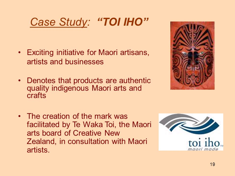 Case Study: TOI IHO Exciting initiative for Maori artisans, artists and businesses.