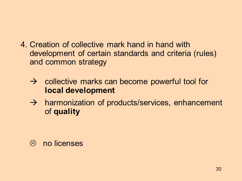  collective marks can become powerful tool for local development