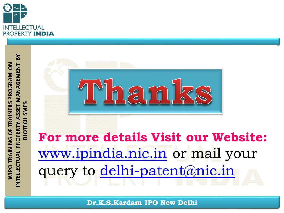 Thanks www.ipindia.nic.in or mail your query to delhi-patent@nic.in