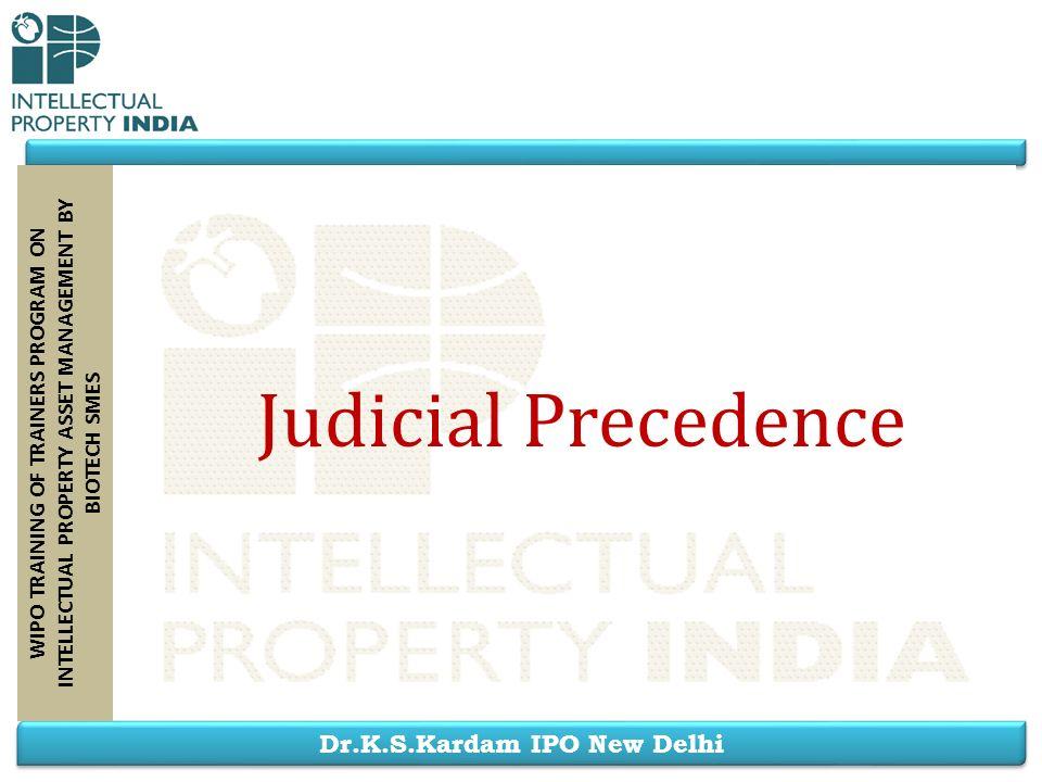 Judicial Precedence