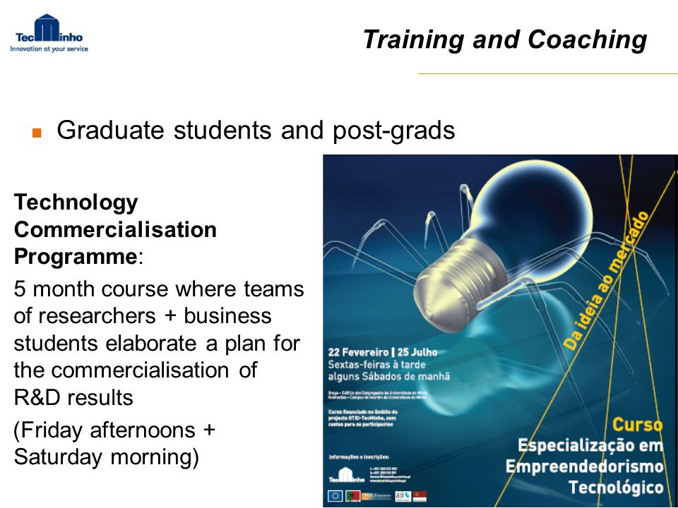 Graduate students and post-grads
