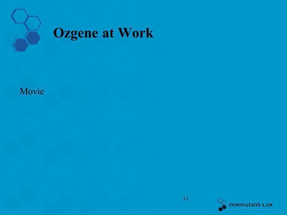 Ozgene at Work Movie
