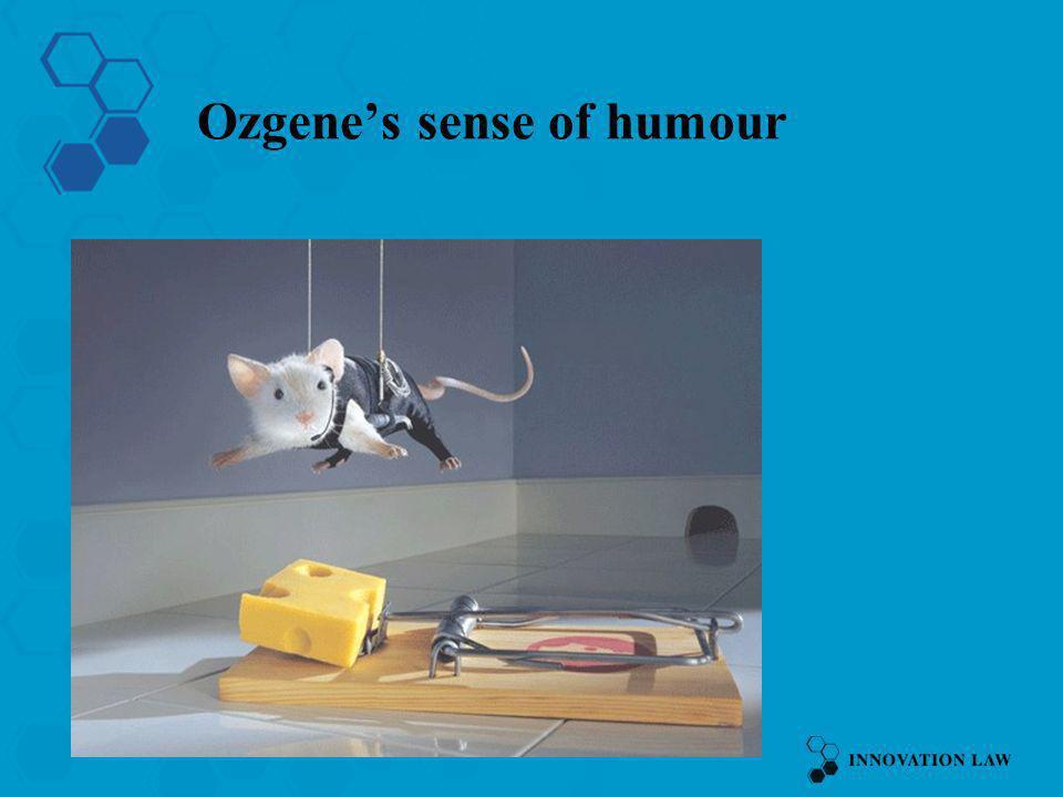 Ozgene's sense of humour