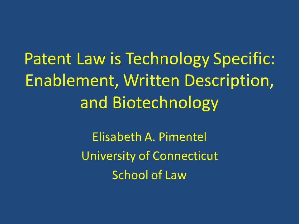 Elisabeth A. Pimentel University of Connecticut School of Law