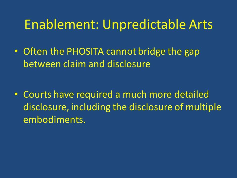 Enablement: Unpredictable Arts