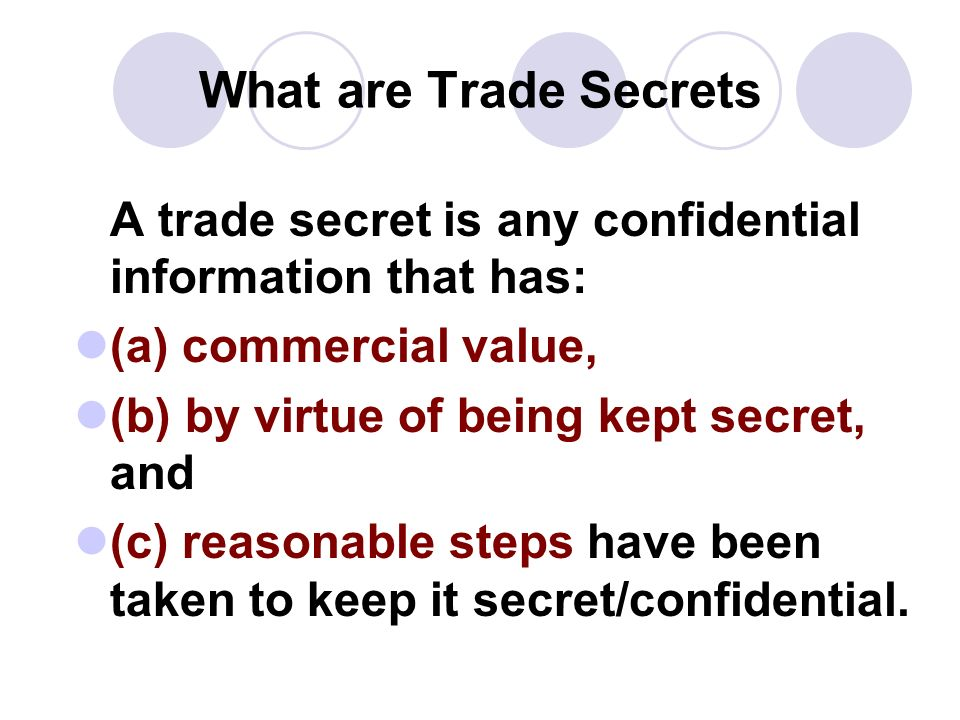 an analysis of trade secrets and confidentiality Almelingfinal 3/17/2010:42 am 291 a statistical analysis of trade secret litigation in federal courts david s almeling,1 darin w snyder,2 michael sapoznikow,3.