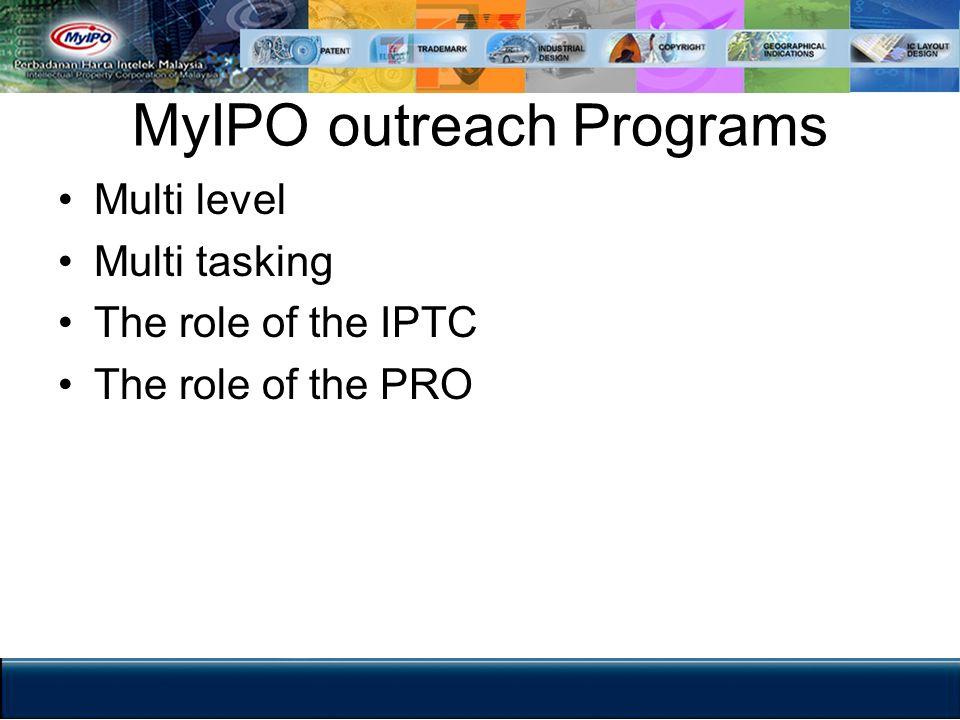 MyIPO outreach Programs
