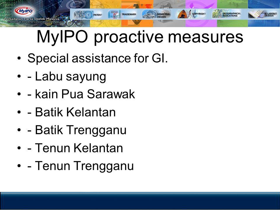 MyIPO proactive measures