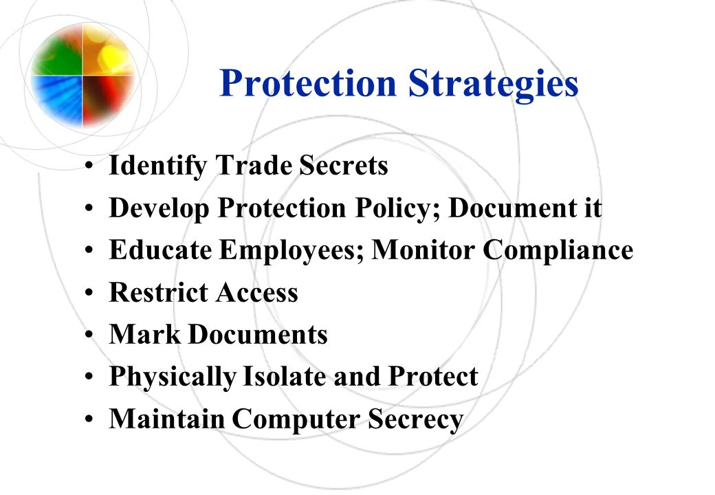 Protection Strategies