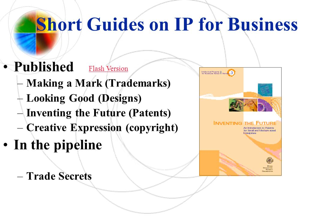 Short Guides on IP for Business