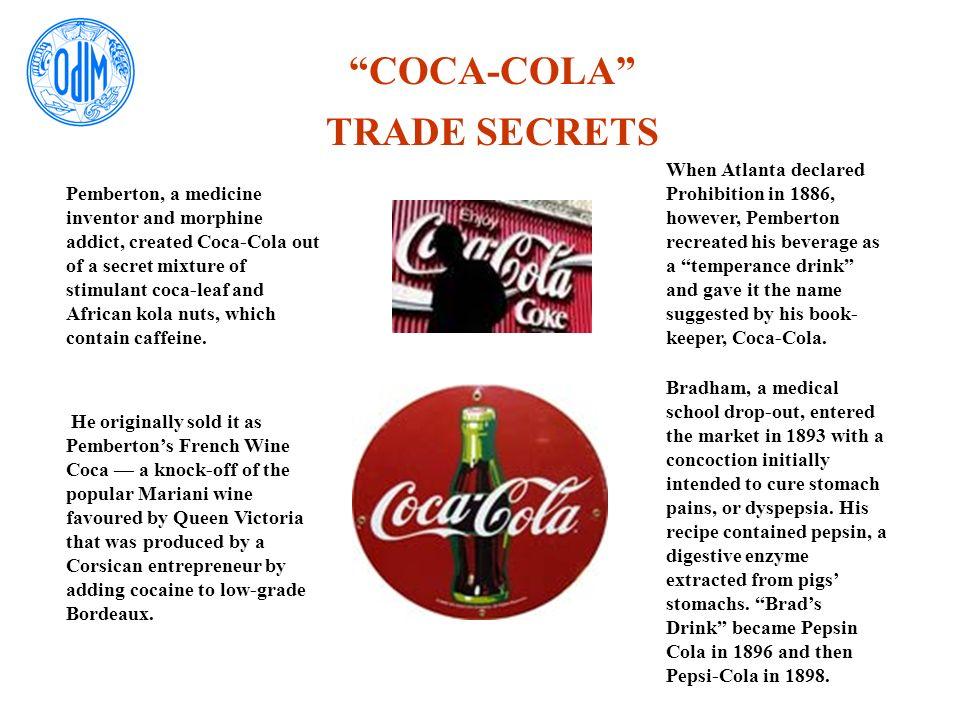 COCA-COLA TRADE SECRETS