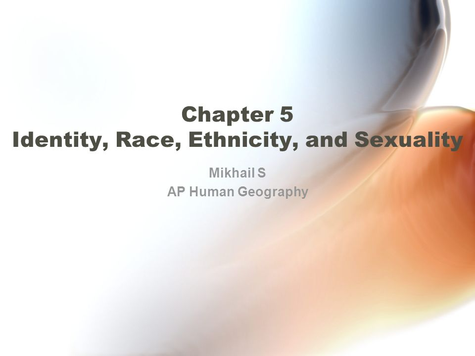 racial ethnic identity essay For hispanics living in the united states, hispanic identity is multidimensional and multifaceted.