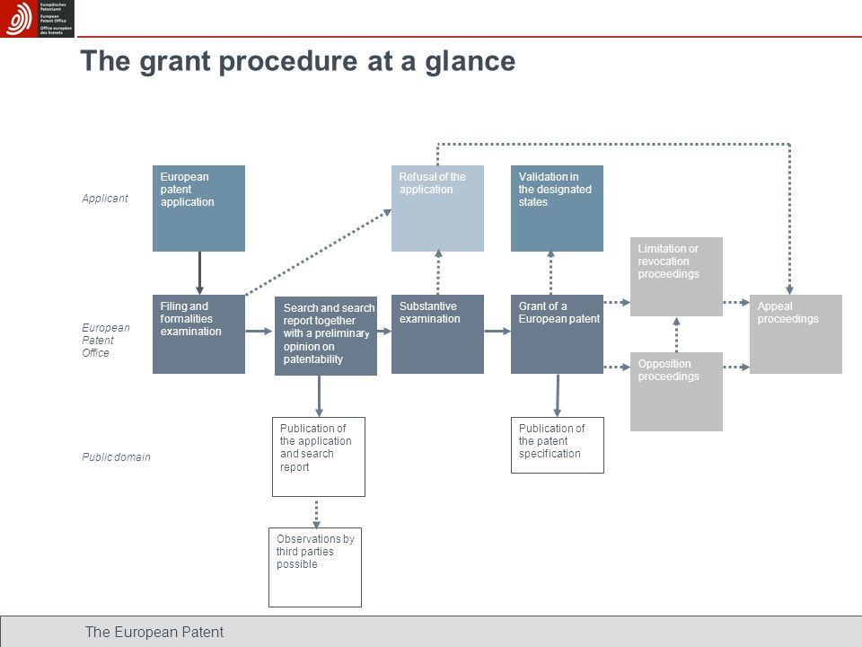 The grant procedure at a glance