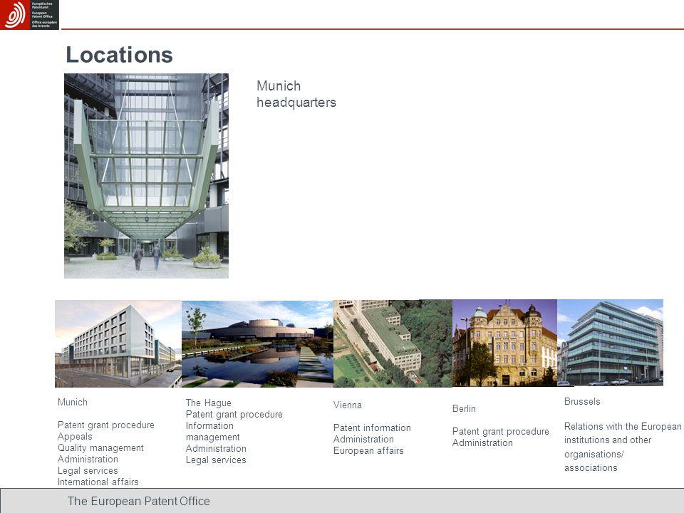 Locations Munich headquarters