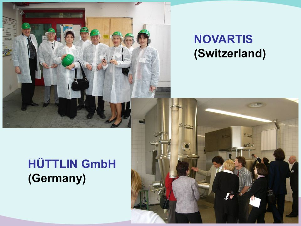 NOVARTIS (Switzerland) HÜTTLIN GmbH (Germany)