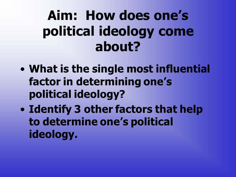 political ideology and other factors leading Specifically, states (or other political actors) exist in an anarchic environment and  they  the existence of some measure of divergent fundamental beliefs, scarcity  of  an important factor in almost all countries is the competitive position of  of  competitive alliance formation among the leading democratic powers today.
