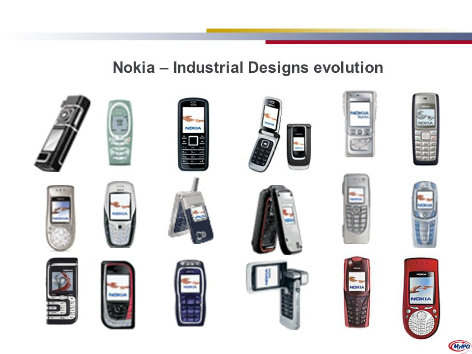 Nokia – Industrial Designs evolution