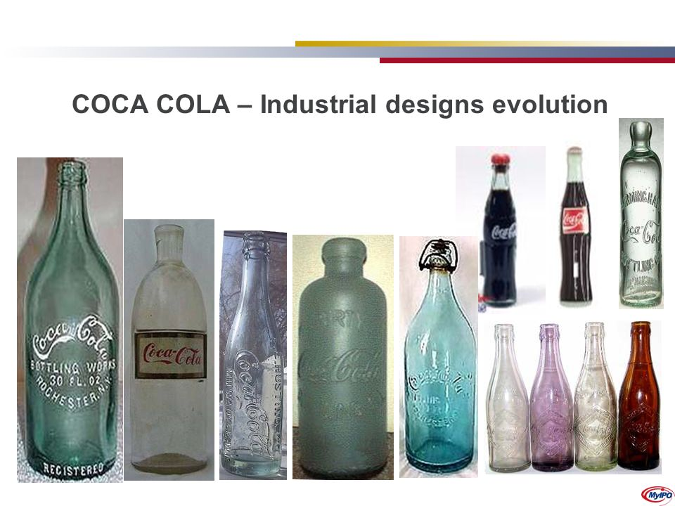 COCA COLA – Industrial designs evolution
