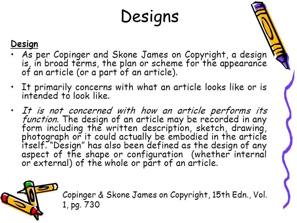 Designs Design.