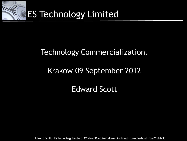 Technology Commercialization.