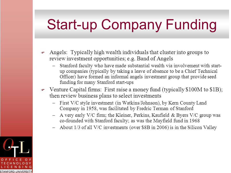 Start-up Company Funding