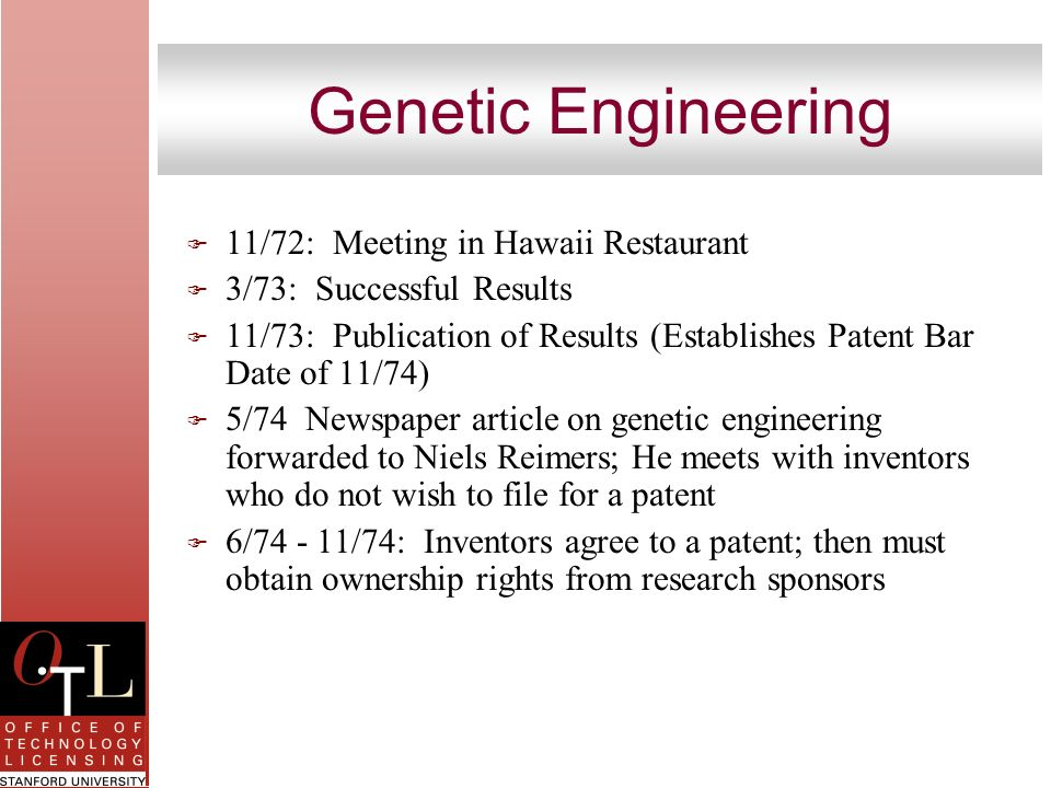 Genetic Engineering 11/72: Meeting in Hawaii Restaurant