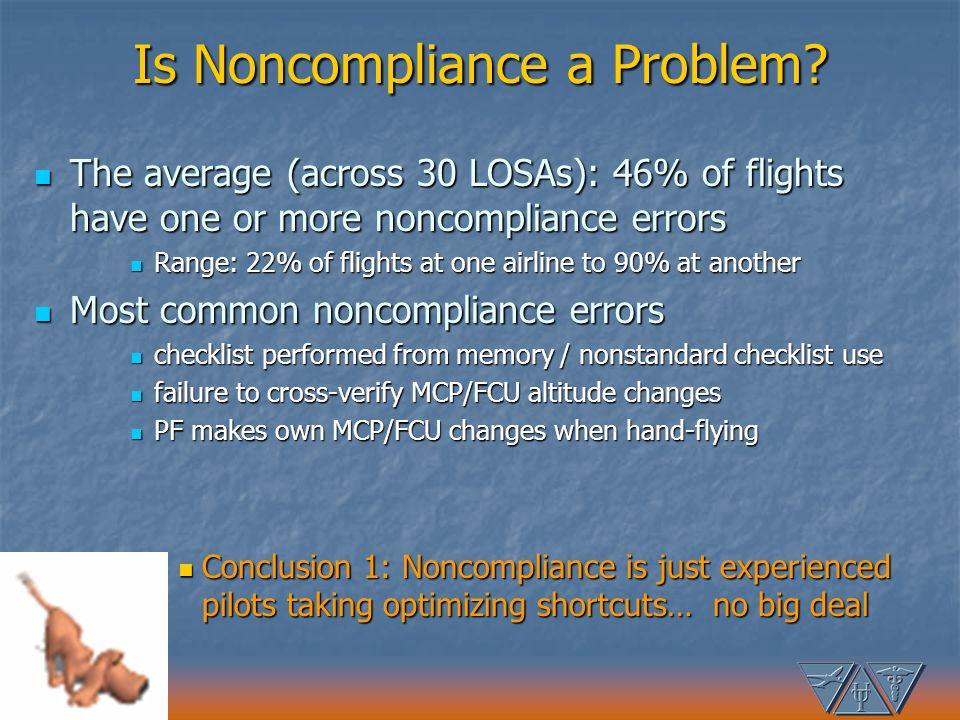 Is Noncompliance a Problem