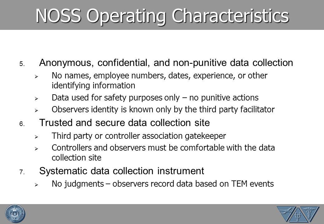 NOSS Operating Characteristics