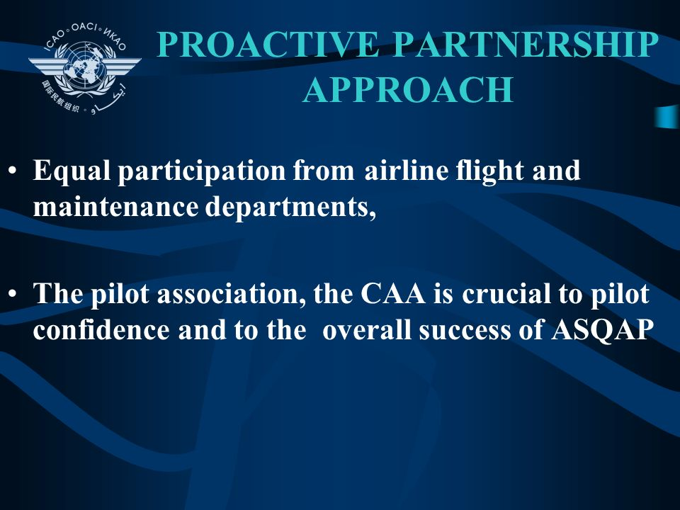 PROACTIVE PARTNERSHIP APPROACH